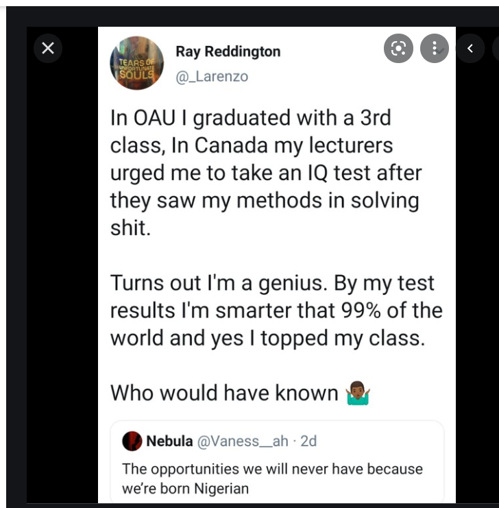 Nigerian Man Discovers His Creativity & Inventiveness While Studying in Canada